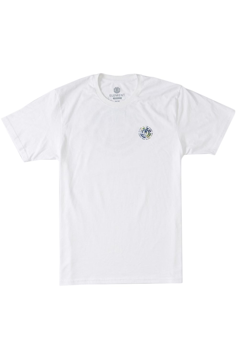 T-Shirt Element SEAL PLANET SS POWER TO THE PLANET Optic White