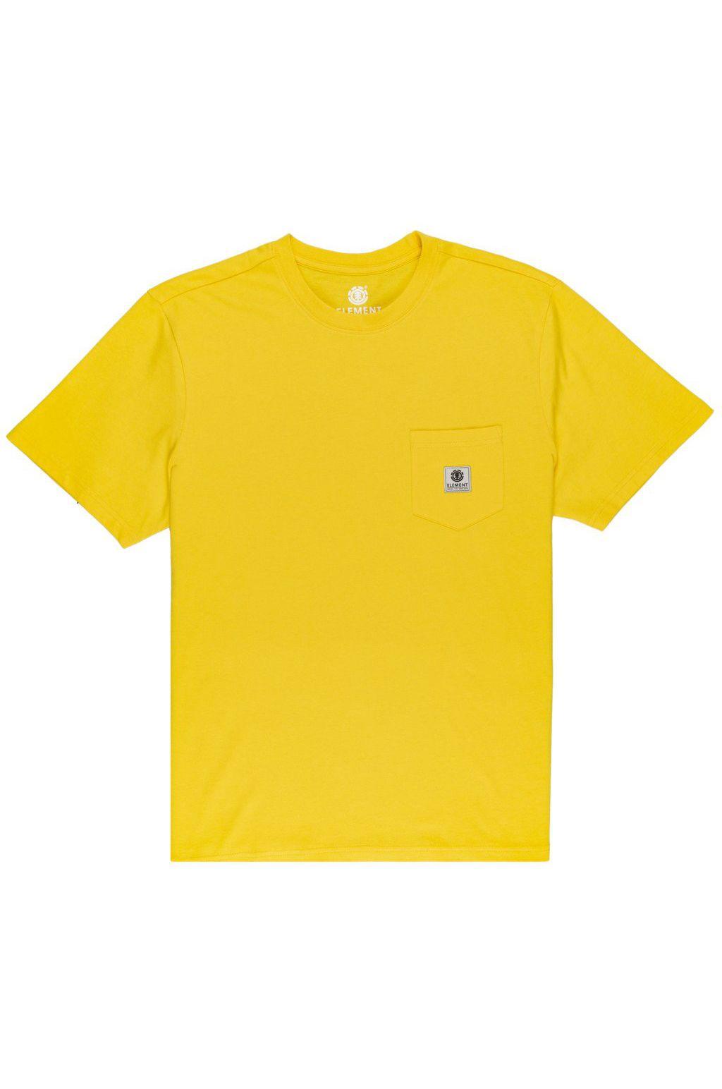 T-Shirt Element BASIC POCKET LABEL S Dandelion