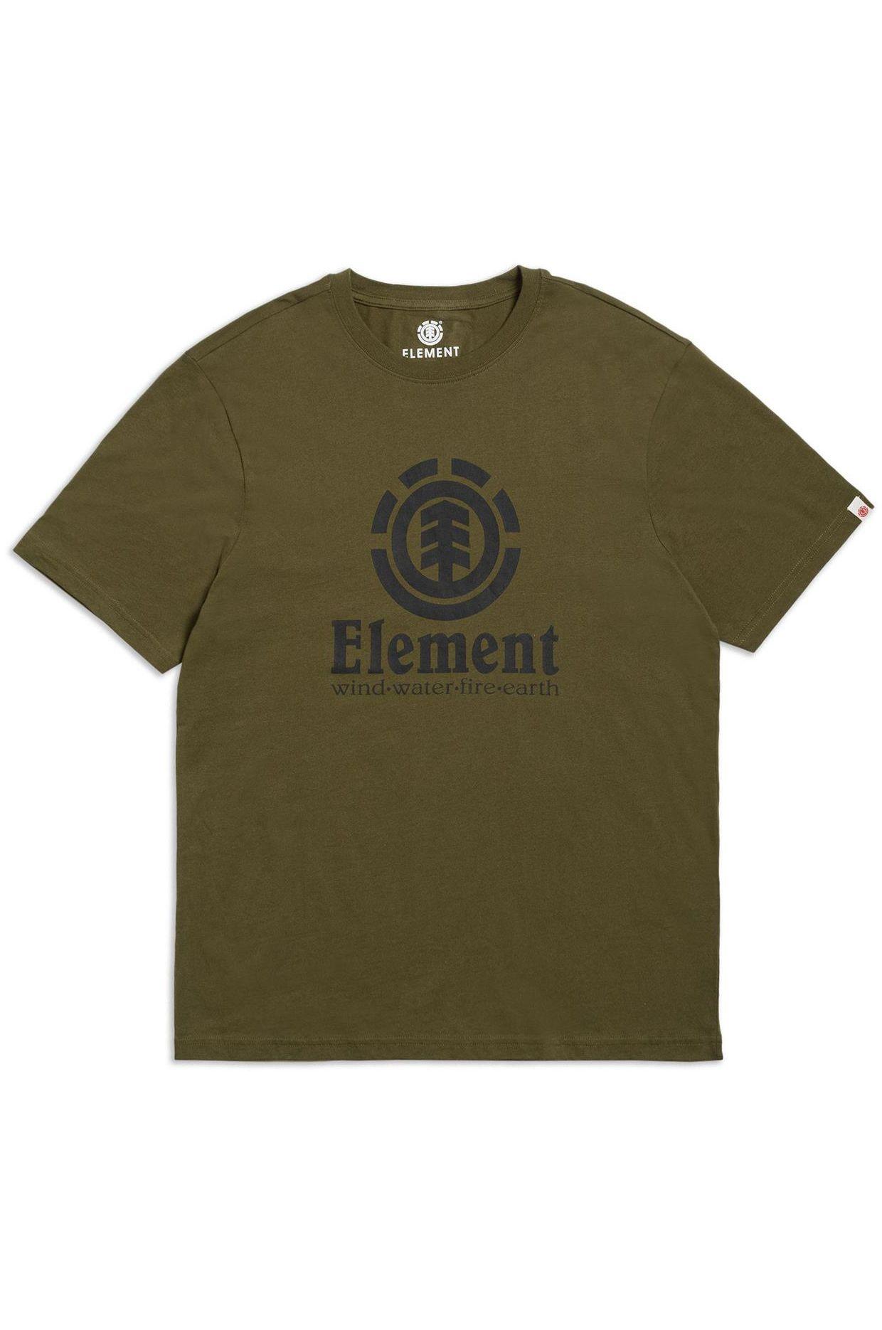 T-Shirt Element VERTICAL SS Army