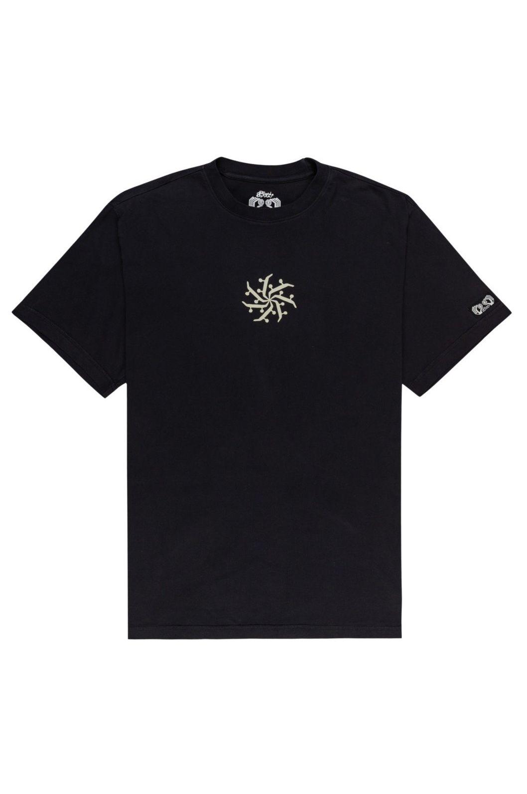 T-Shirt Element MANDALA SS FERNANDO ELVIRA Flint Black