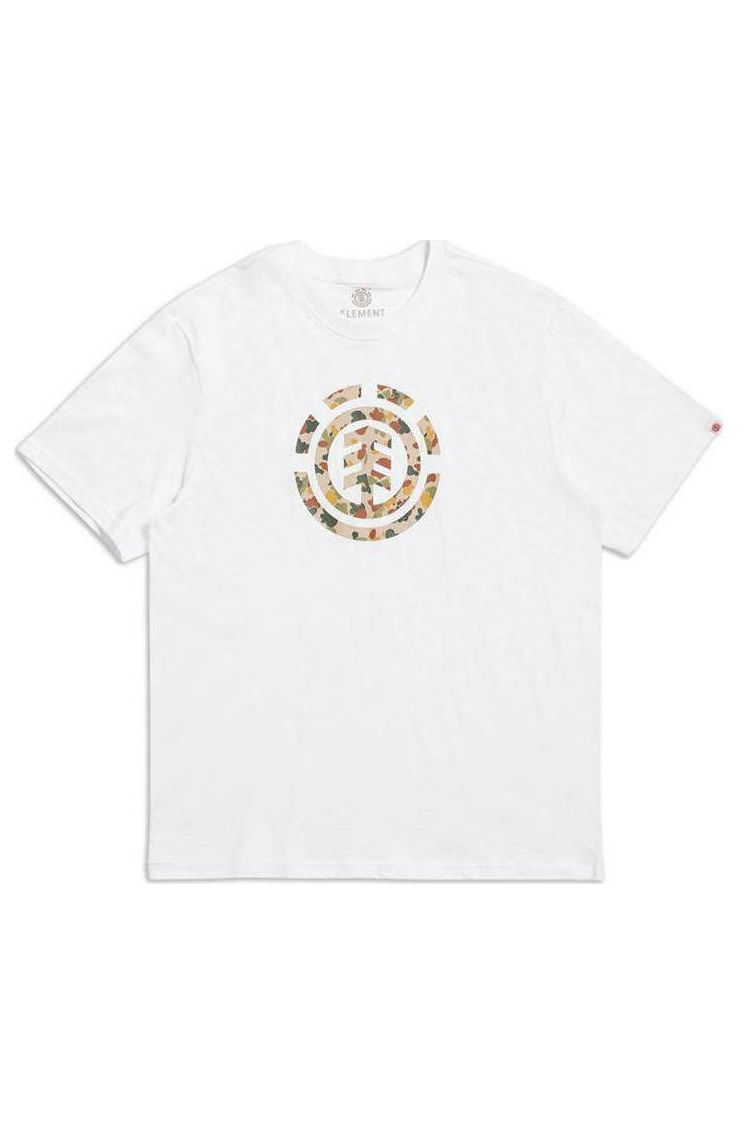 T-Shirt Element SAND CAMO ICON SS Optic White