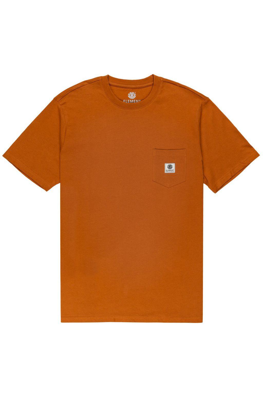 T-Shirt Element BASIC POCKET LABEL Glazed Ginger