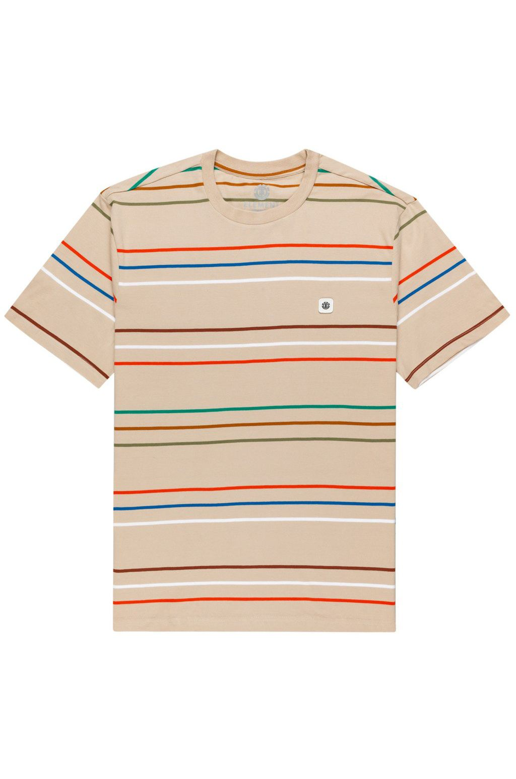 T-Shirt Element HOVDEN STRIPES SS Oxford Tan