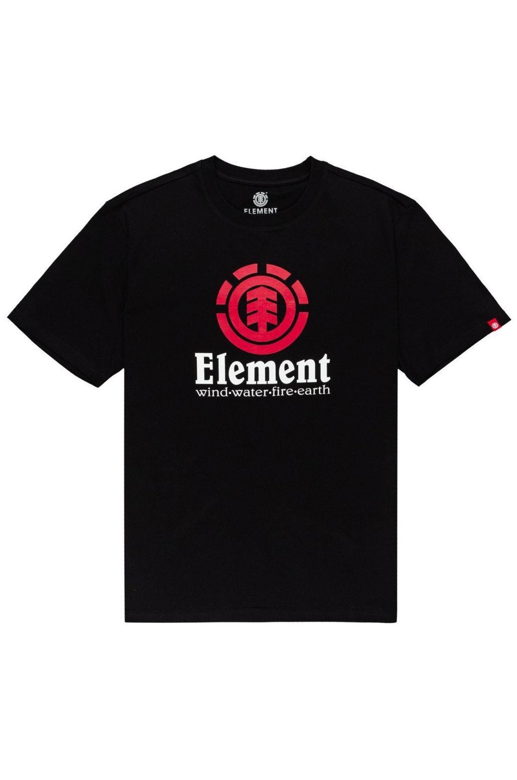 T-Shirt Element VERTICAL Flint Black