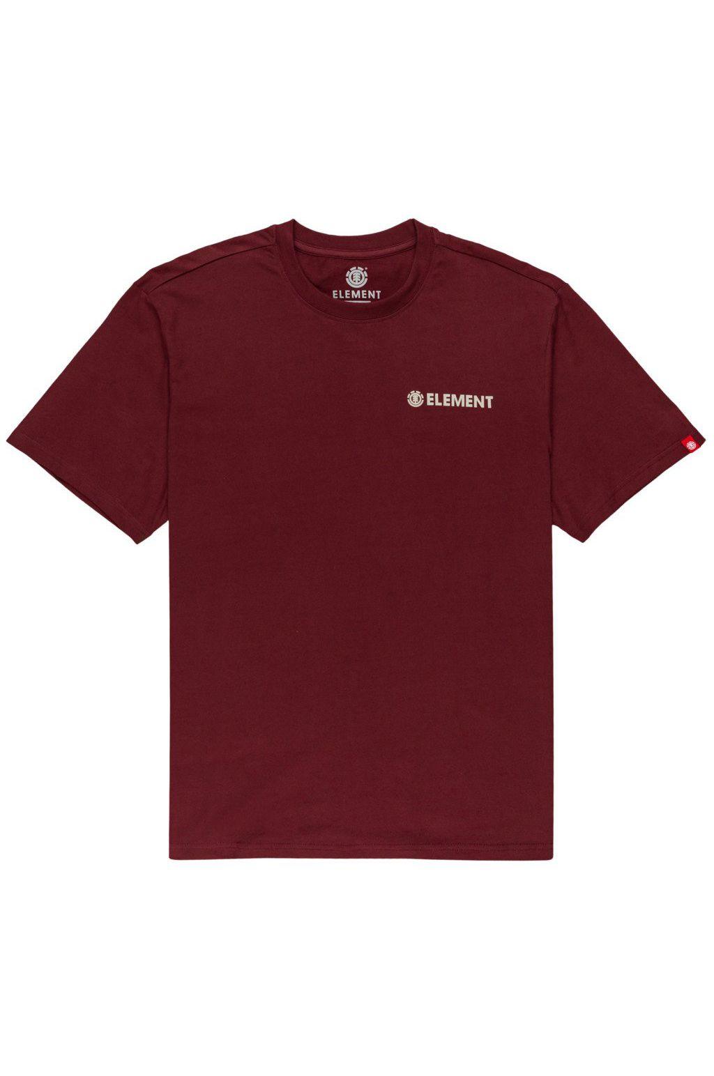 T-Shirt Element BLAZIN CHEST Vintage Red