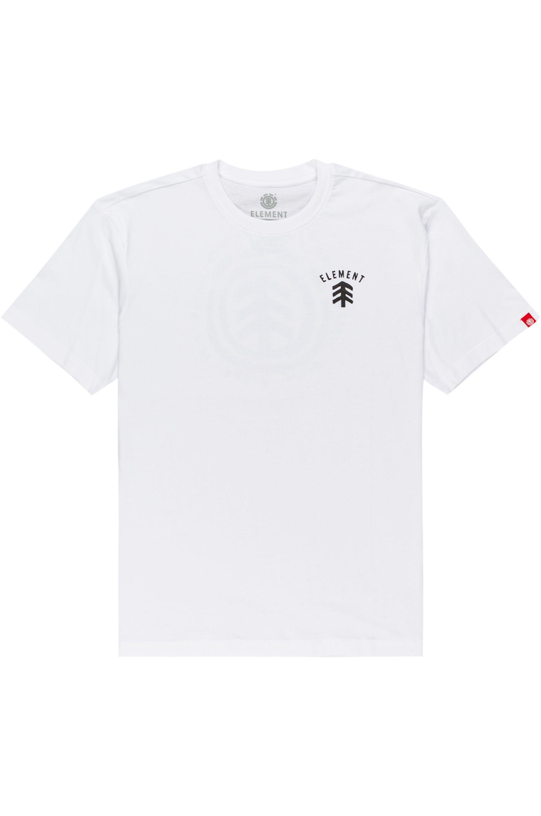 T-Shirt Element CASCO SS Optic White