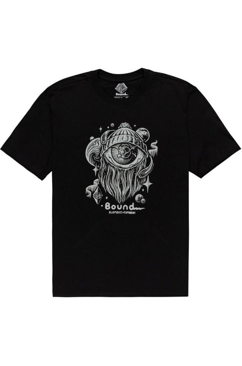 Element T-Shirt A WORLD APART SS TIMBER COLLECTION Flint Black