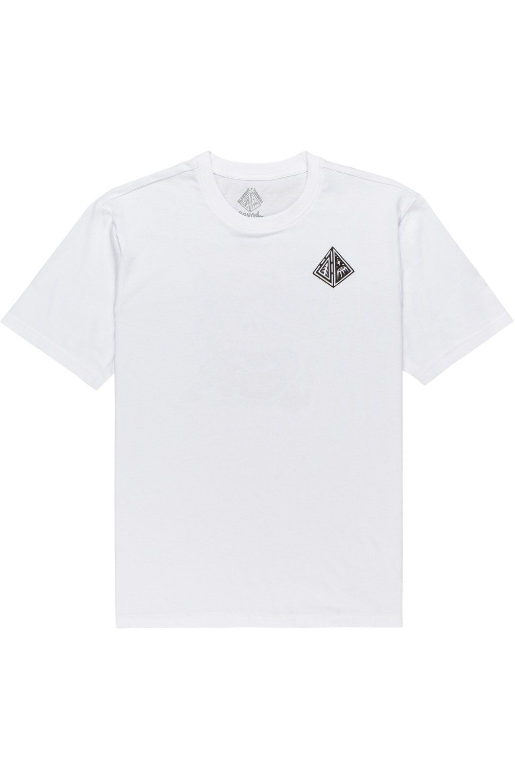 Element T-Shirt ELLIPTICAL SS TIMBER COLLECTION Optic White