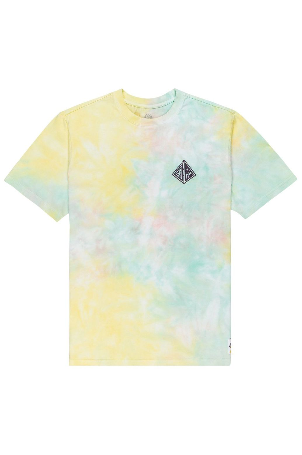 Element T-Shirt ELLIPTICAL SS TIMBER COLLECTION Yellow
