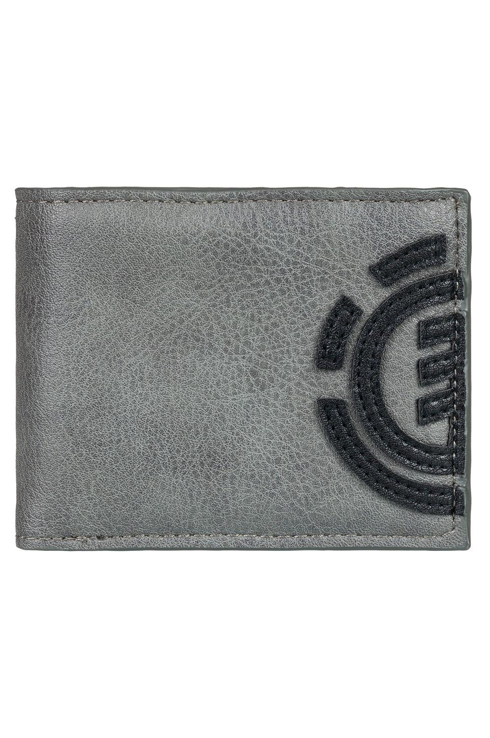 Element Wallet PU  DAILY WALLET Steeple Gray