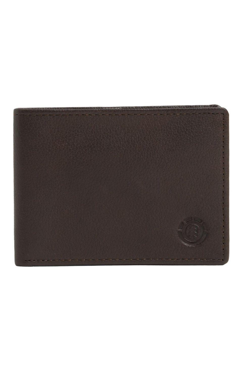 Element Leather Wallet AVENUE WALLET Brown