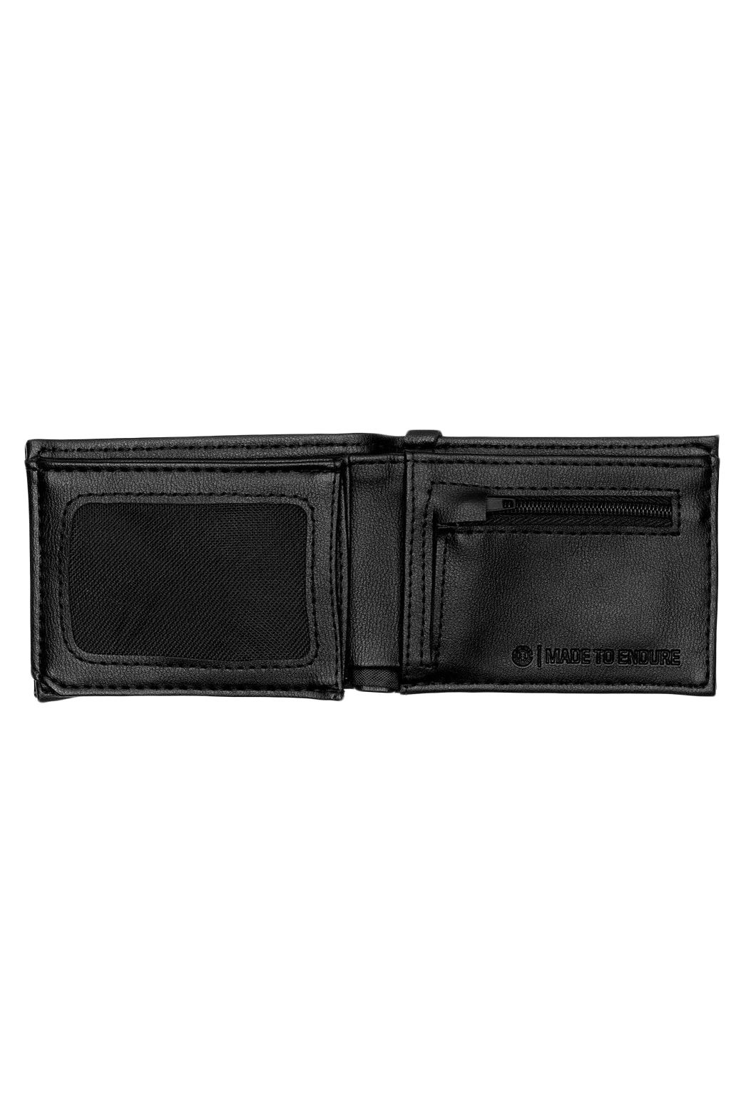 Carteira Pele Element SEGUR LEATHER WALLET Black