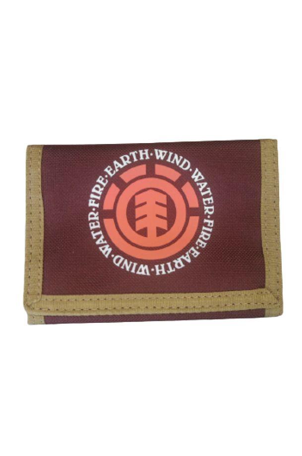Carteira Element ELEMENTAL WALLET PACK Vintage Red