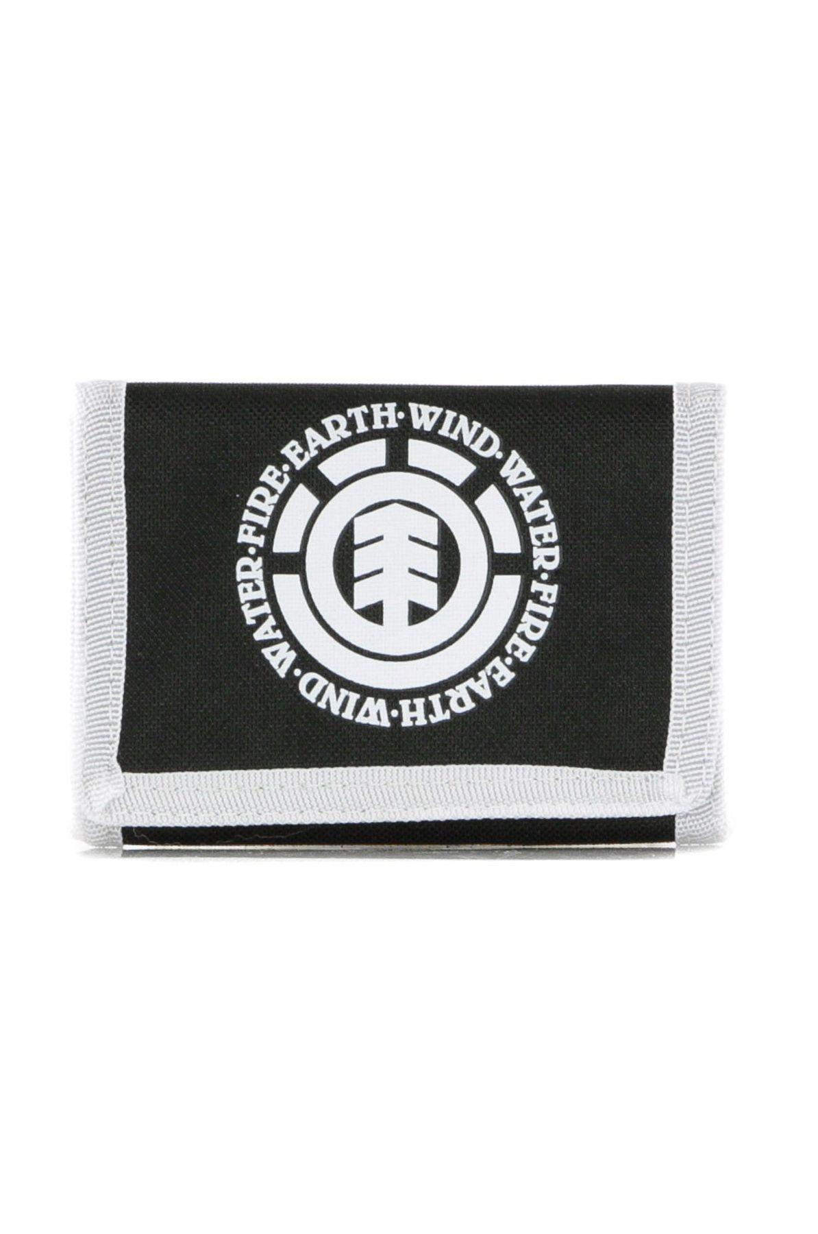 Carteira Element ELEMENTAL WALLET PACK Black White