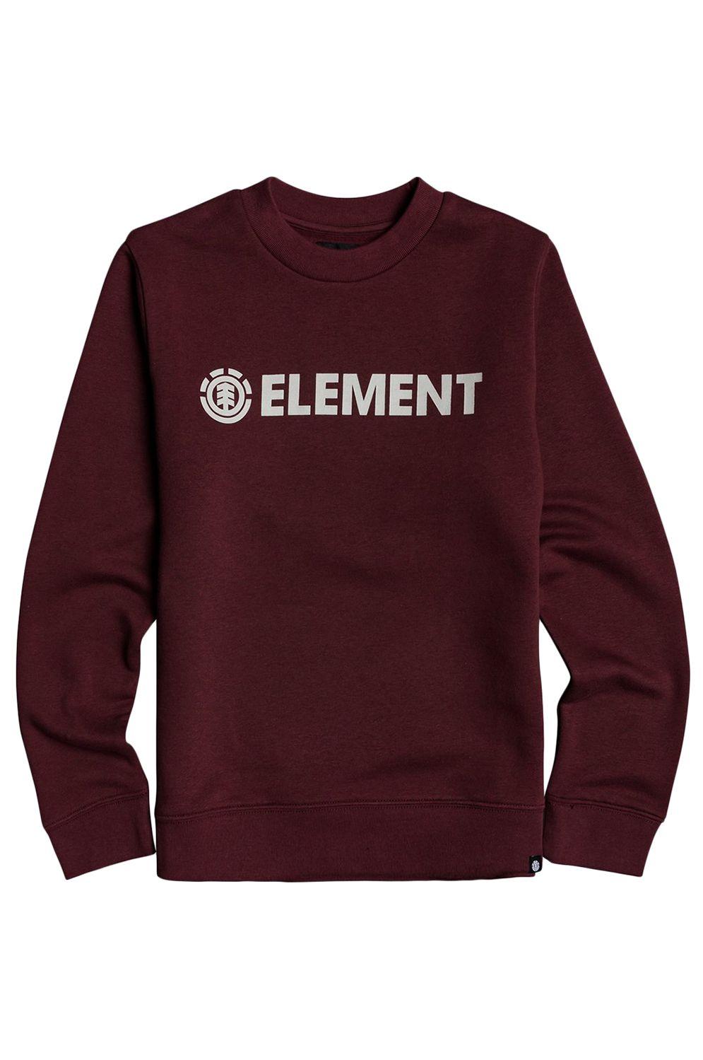 Element Crew Sweat BLAZIN CREW BOY Vintage Red