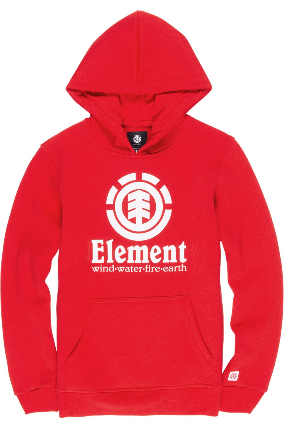 Sweat Capuz Element VERTICAL Fire Red