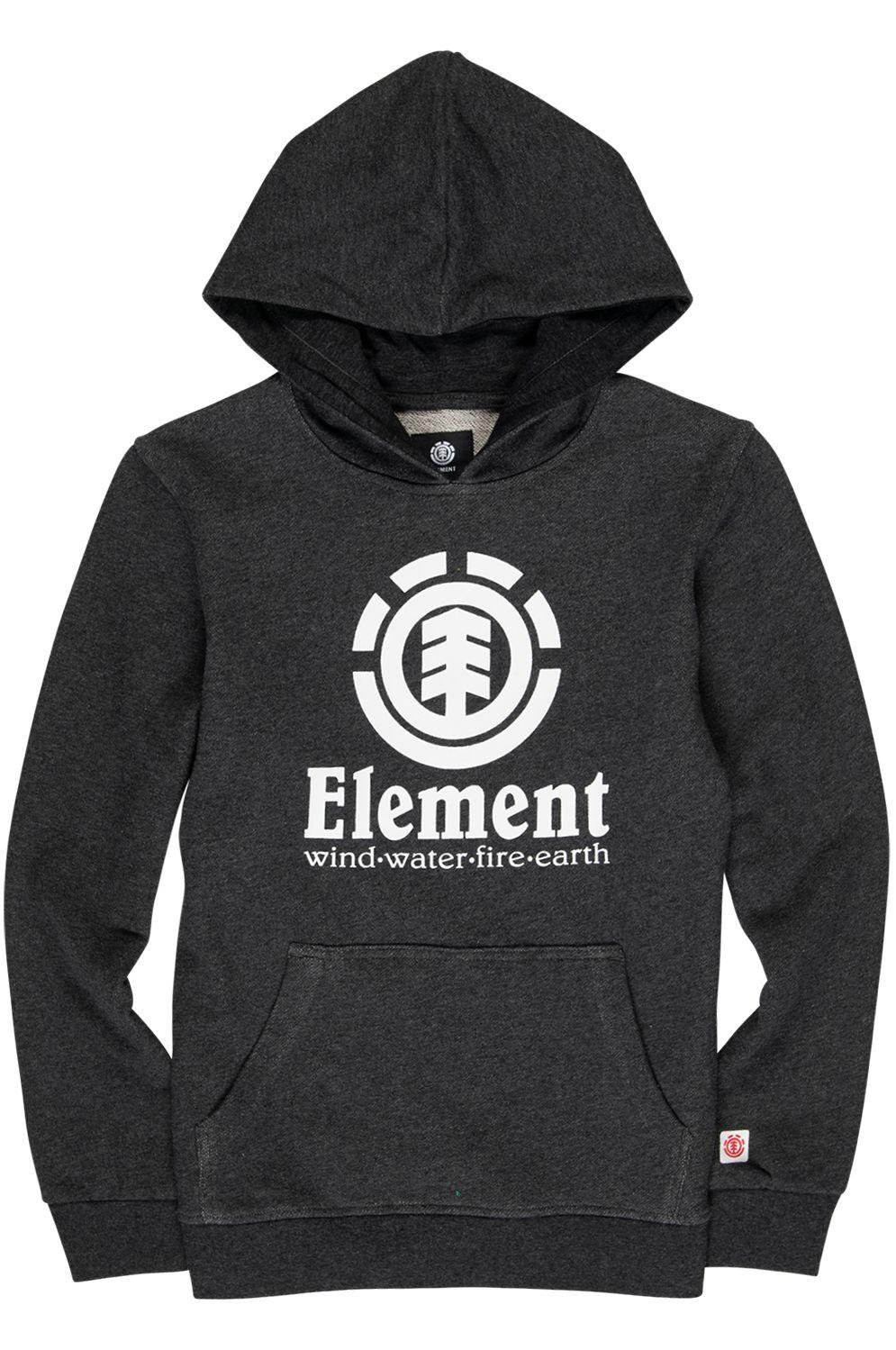 Element Sweat Hood VERTICAL FT BOY Charcoal Heather