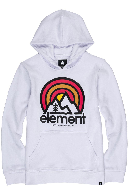 Element Sweat Hood SONATA FT BOY Optic White