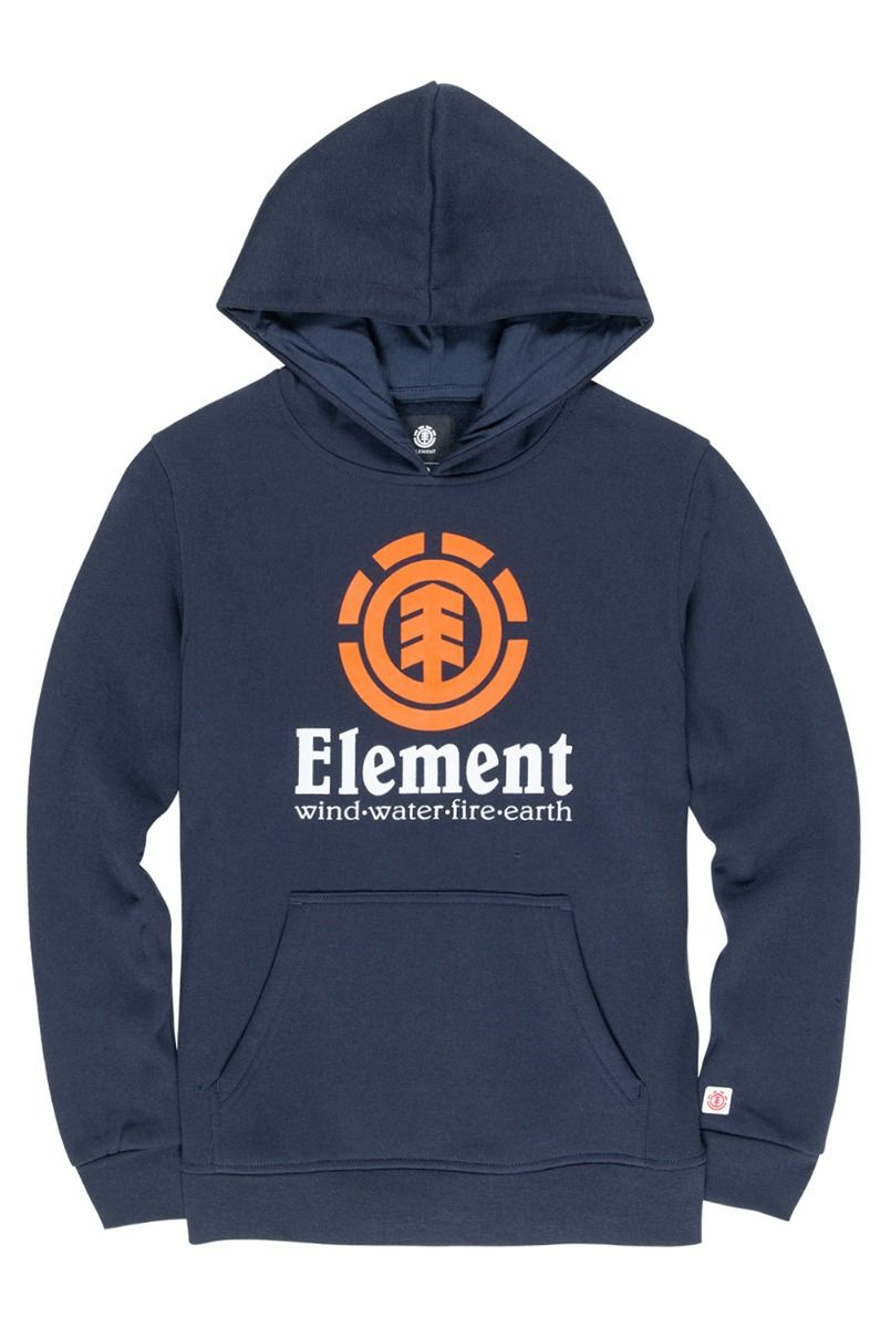 Element Sweat Hood VERTICAL HOOD BOY Eclipse Navy