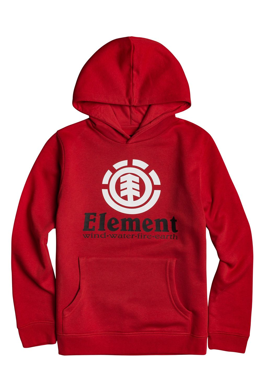 Element Sweat Hood VERTICAL HOOD BOY Fire Red