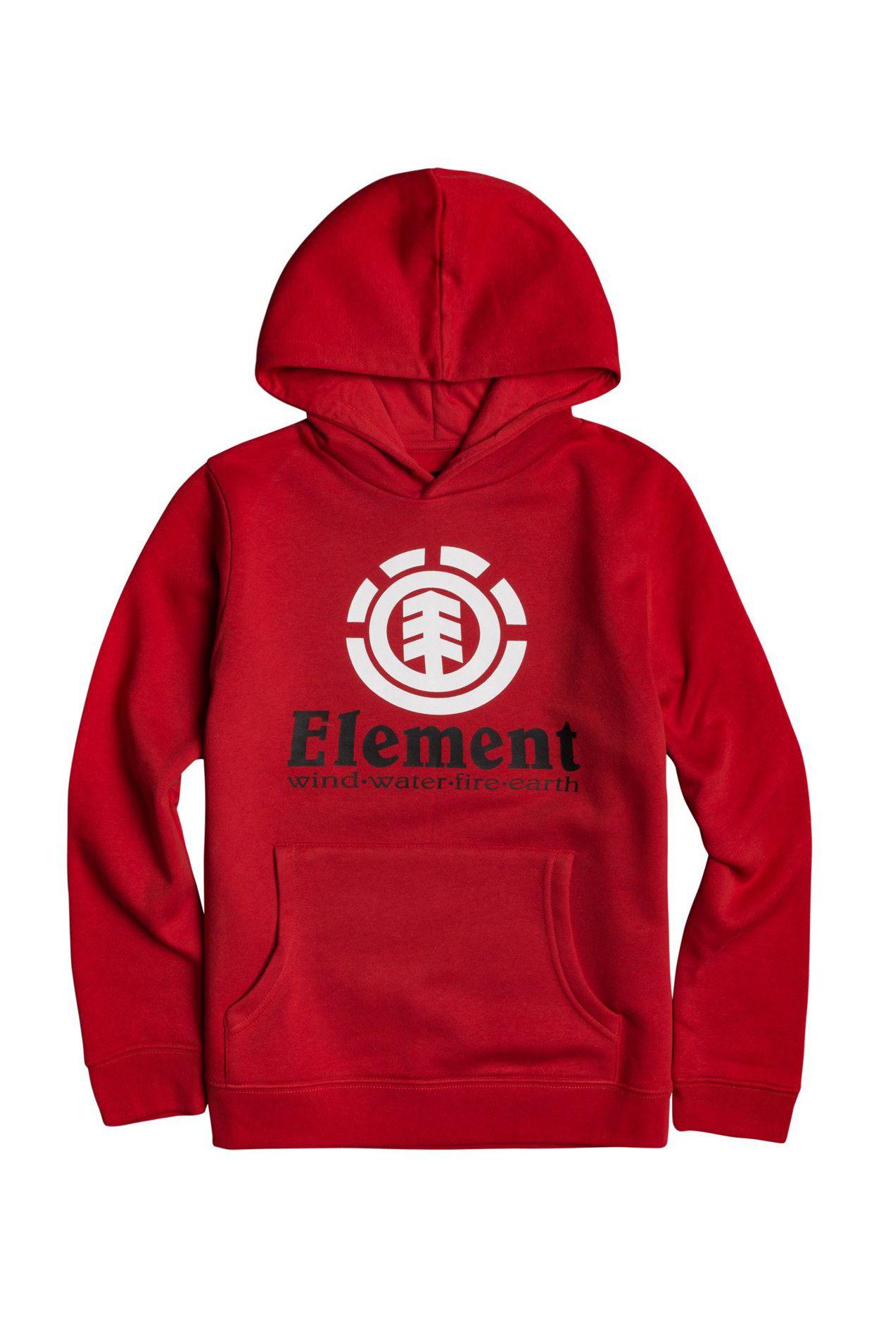 Sweat Capuz Element VERTICAL HOOD BOY Fire Red