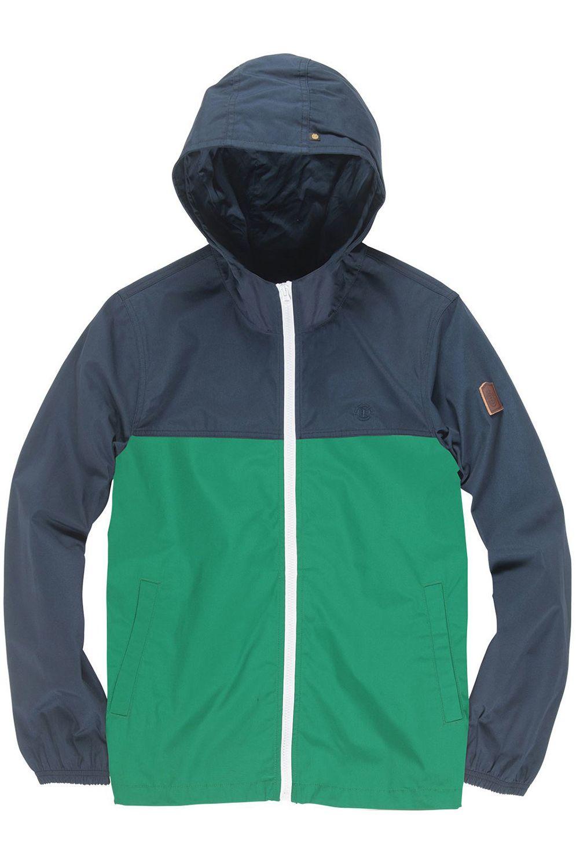 Element Jacket ALDER LIGHT 2TONES FOUNDATION Dynasty Green