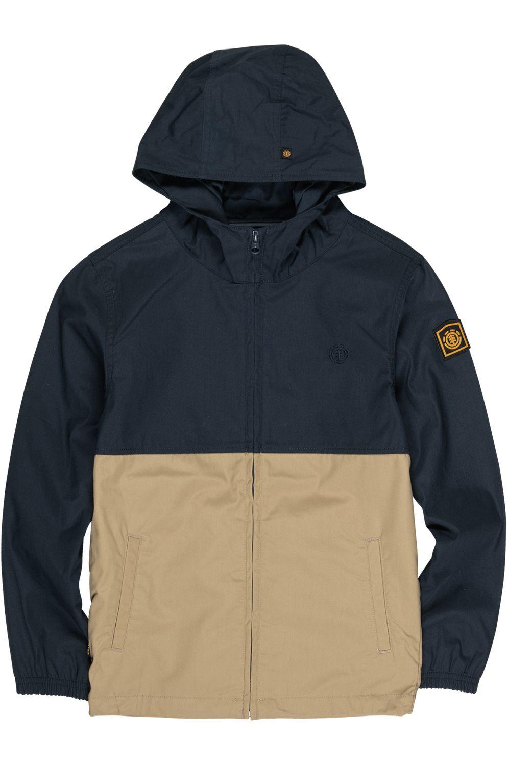 Element Jacket ALDER LIGHT 2TONES BOY WOLFEBORO Eclipse Navy