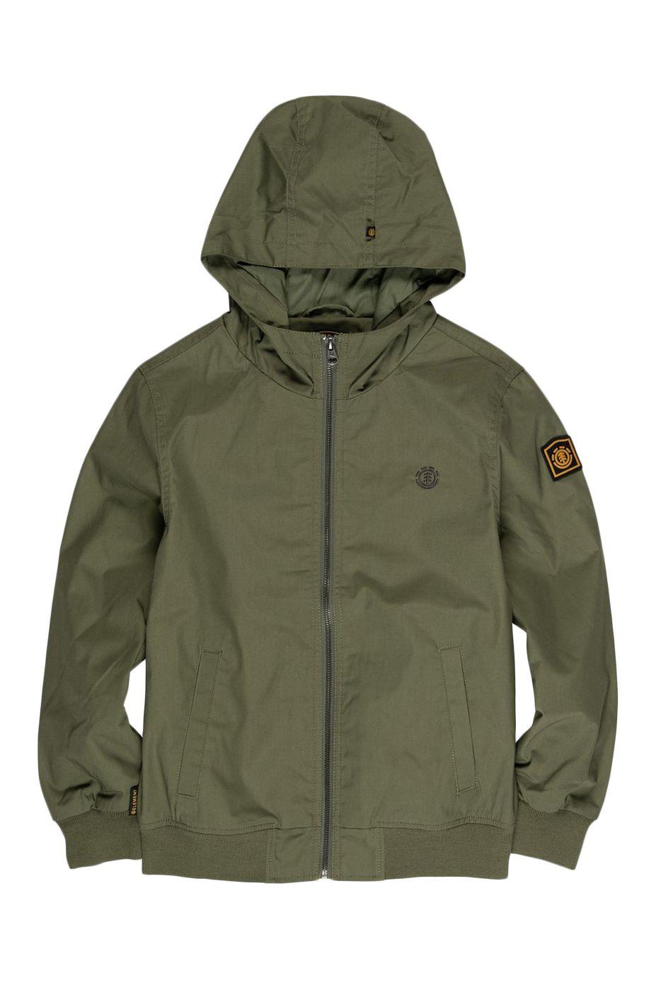 Element Jacket DULCEY LIGHT BOY WOLFEBORO Army