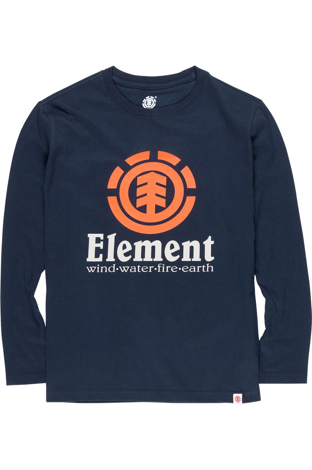 Element L-Sleeve VERTICAL Eclipse Navy
