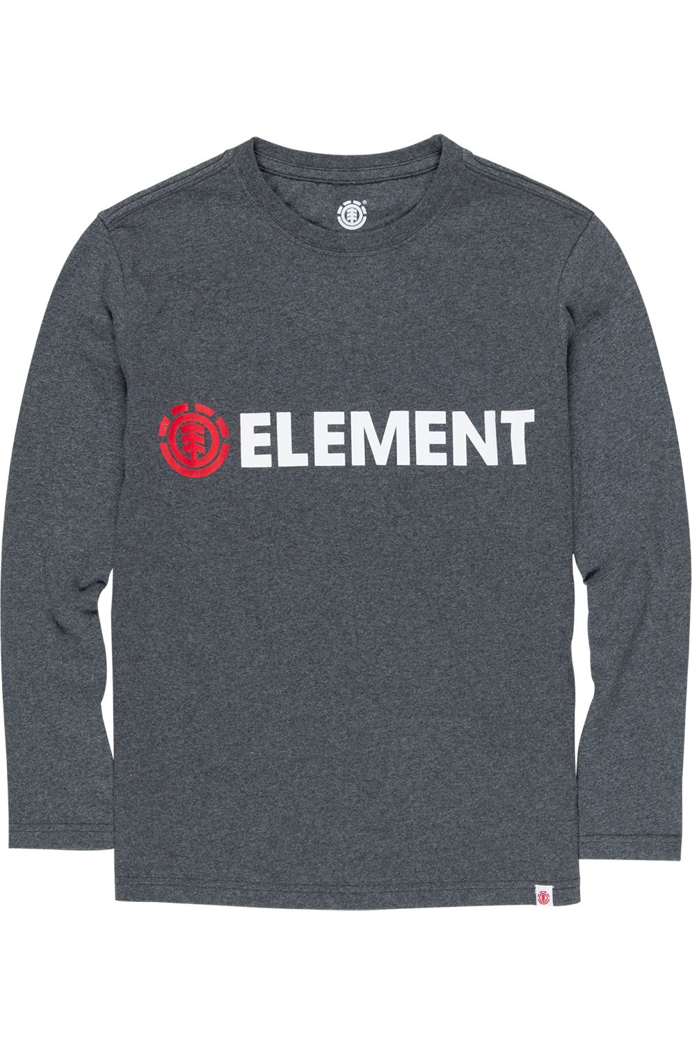 Element L-Sleeve BLAZIN Charcoal Heather