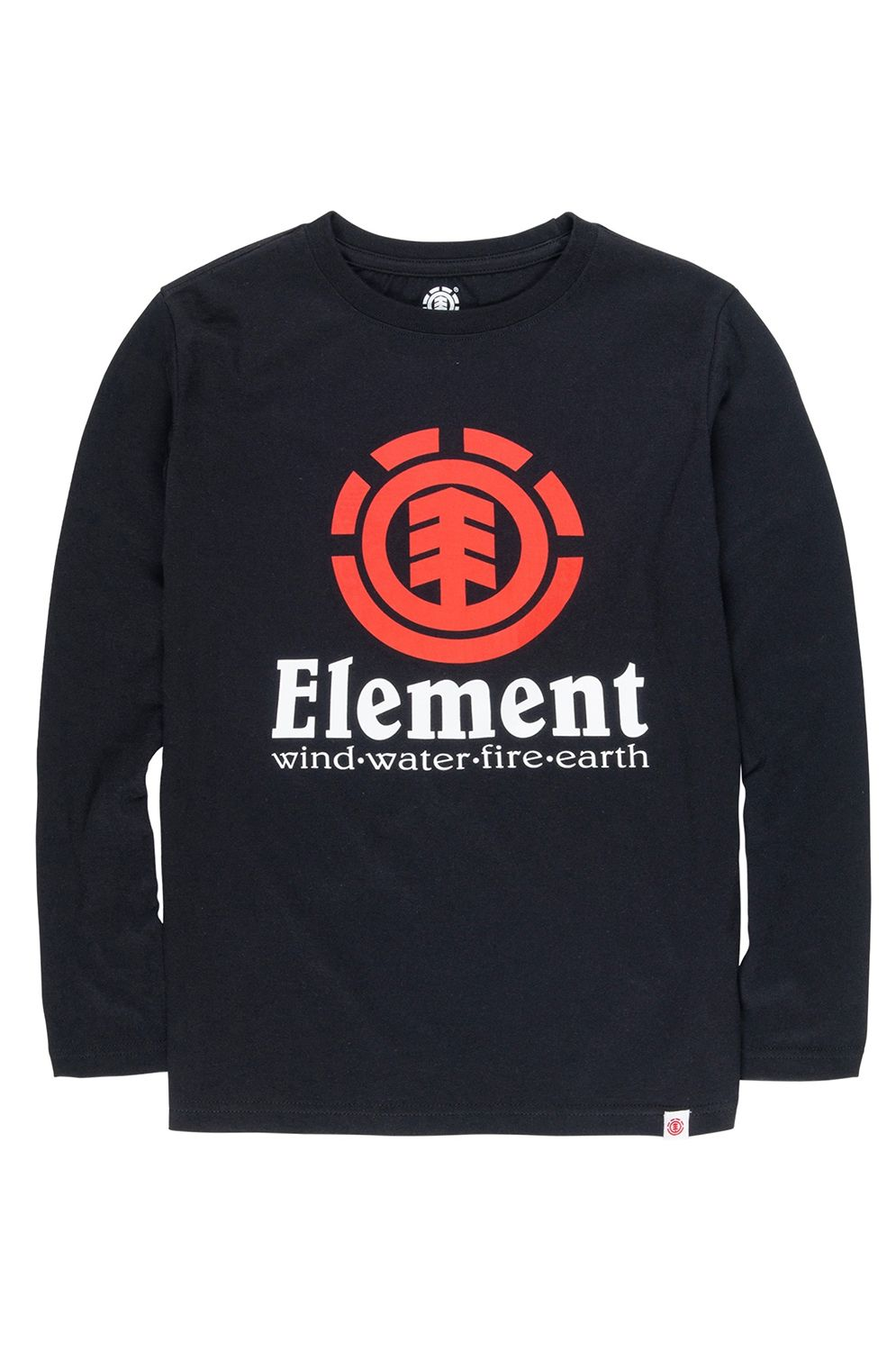 Element L-Sleeve VERTICAL LS BOY Flint Black