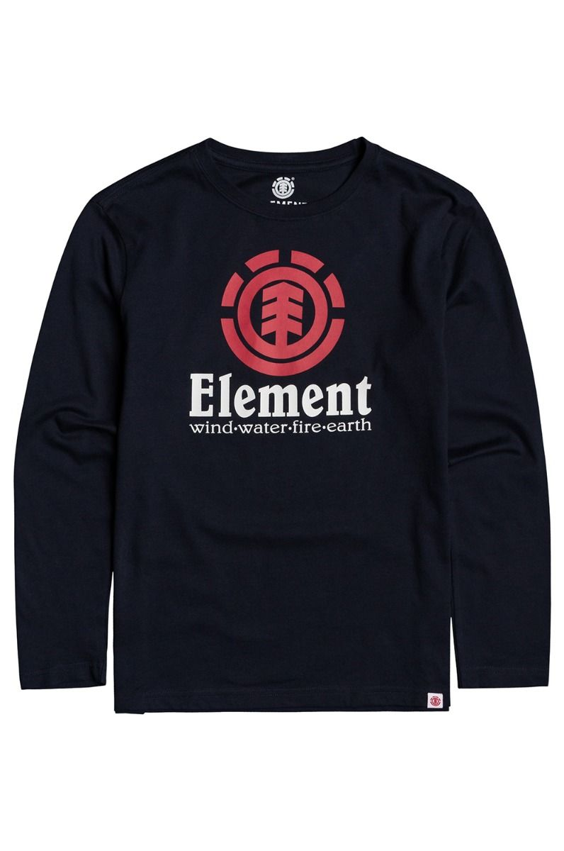 Element L-Sleeve VERTICAL LS BOY Eclipse Navy