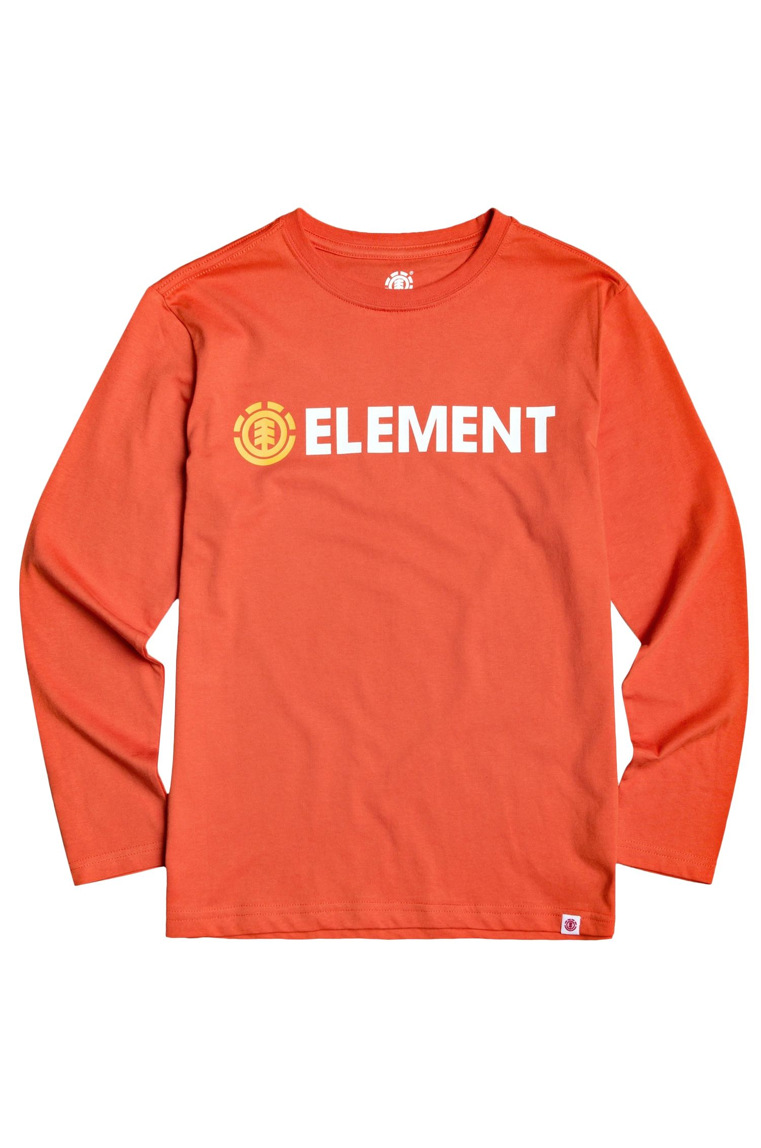 Element L-Sleeve BLAZIN LS BOY Red Clay
