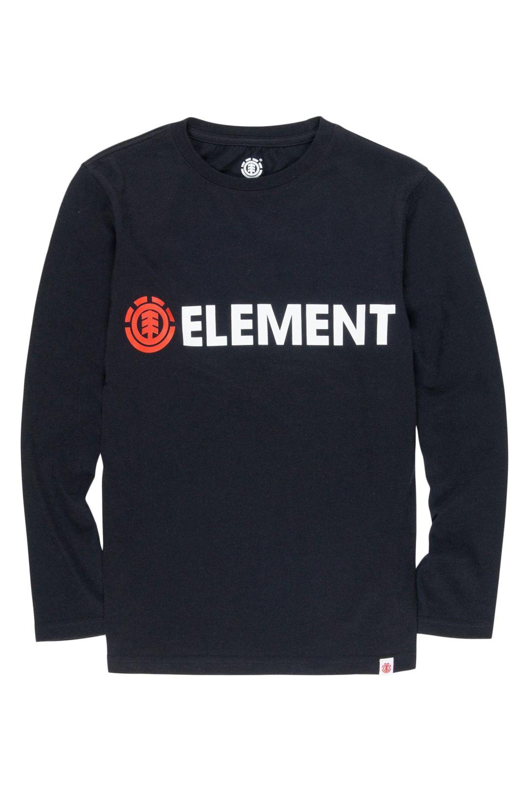 L-Sleeve Element BLAZIN LS BOY Flint Black