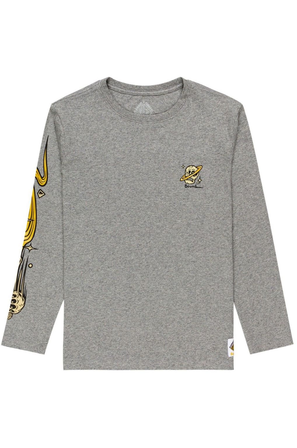 Element L-Sleeve TRANSENDER LS YOUTH TIMBER COLLECTION Grey Heather