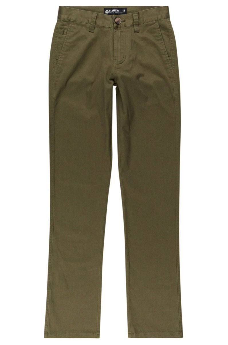 Element Pants HOWLAND CLASSIC CHIN Army