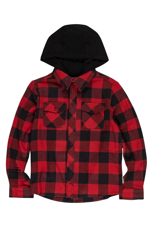 Element Shirt TACOMA 2C HO BOY Pompeian Red