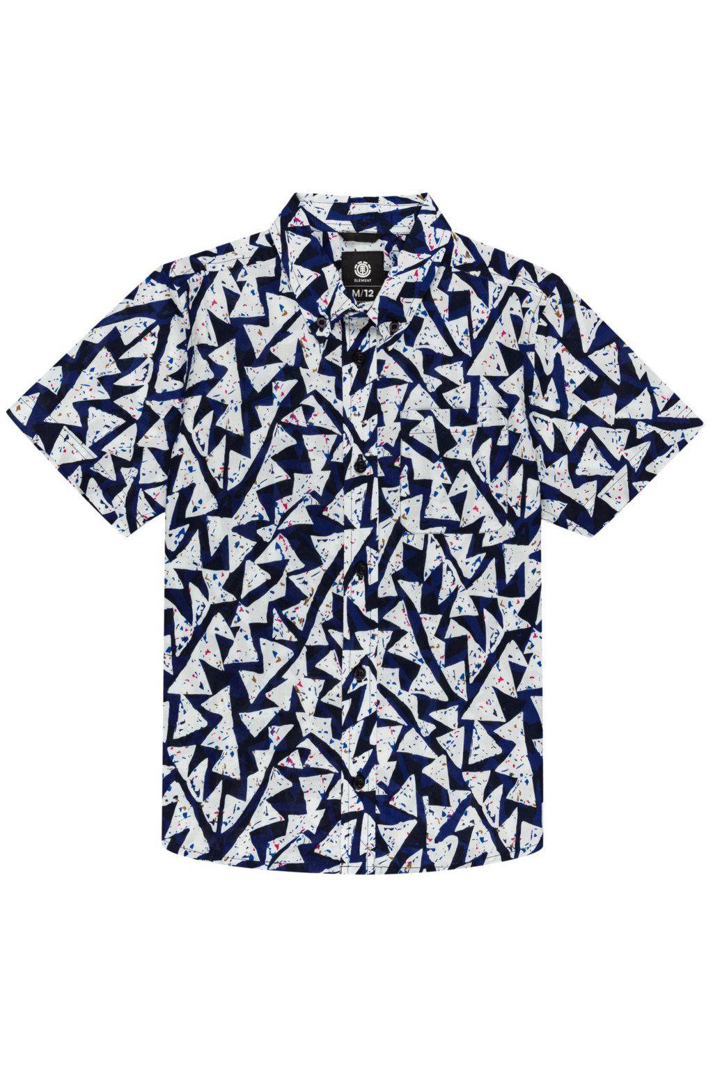 Element Shirt RISE SS BOY FUTURE NATURE Blue Ridge
