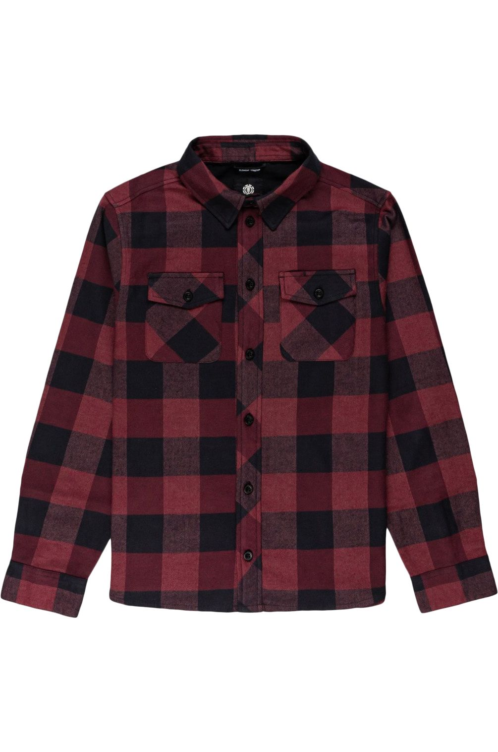 Element Shirt TACOMA 2 YOUTH Vint Red Heather