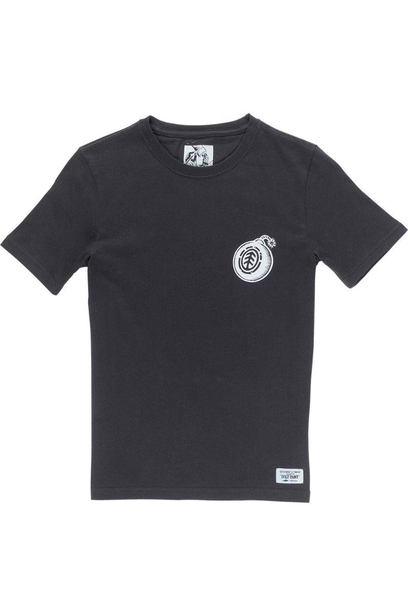 T-Shirt Element BLAST SEASONAL COLLECTION Off Black