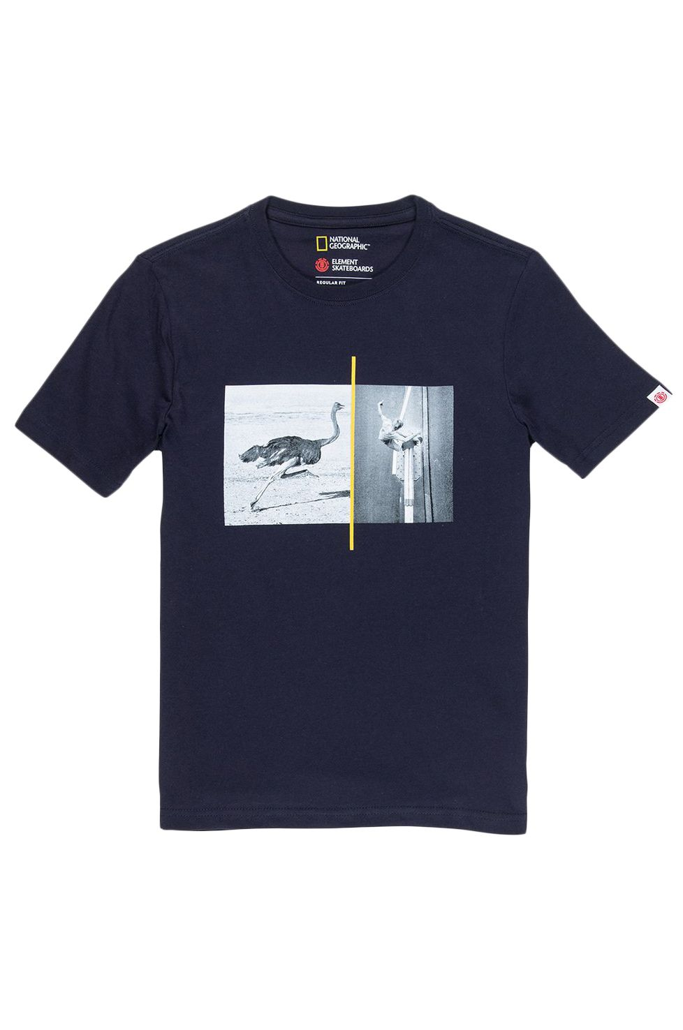 T-Shirt Element OSTRICH APSE NATIONAL GEOGRAPHIC Eclipse Navy