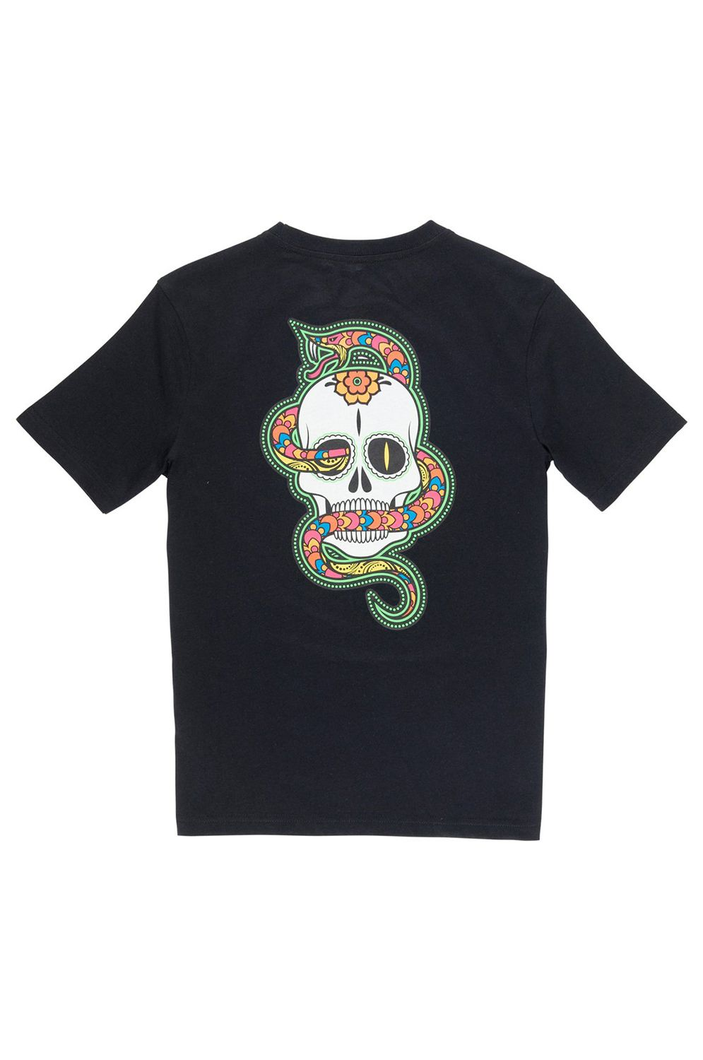 T-Shirt Element ABYSS DAY OF THE DEAD Flint Black