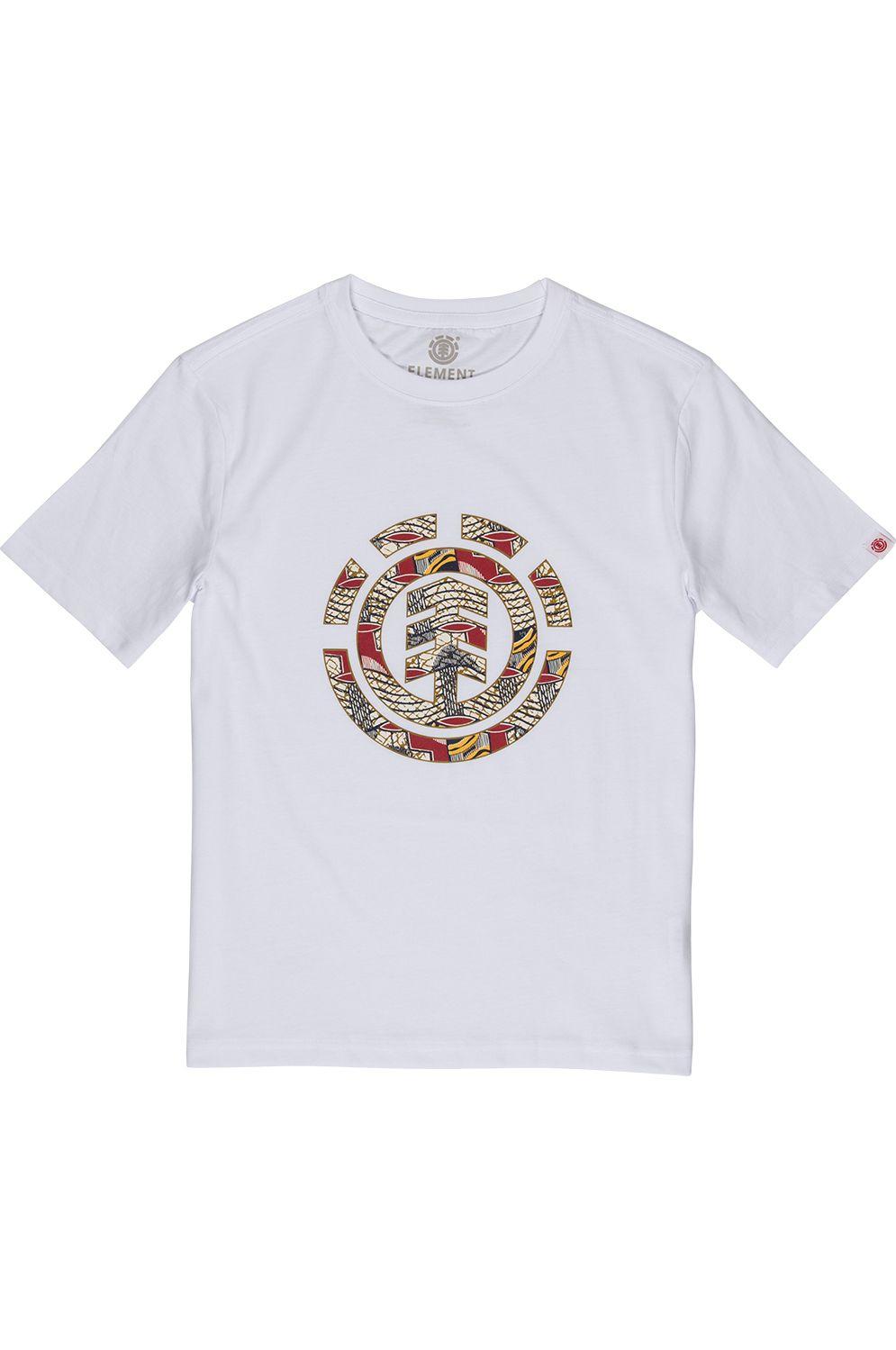 T-Shirt Element ORIGINS ICON BOY Optic White