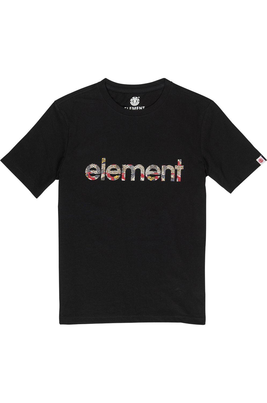Element T-Shirt ORIGINS BOY Flint Black