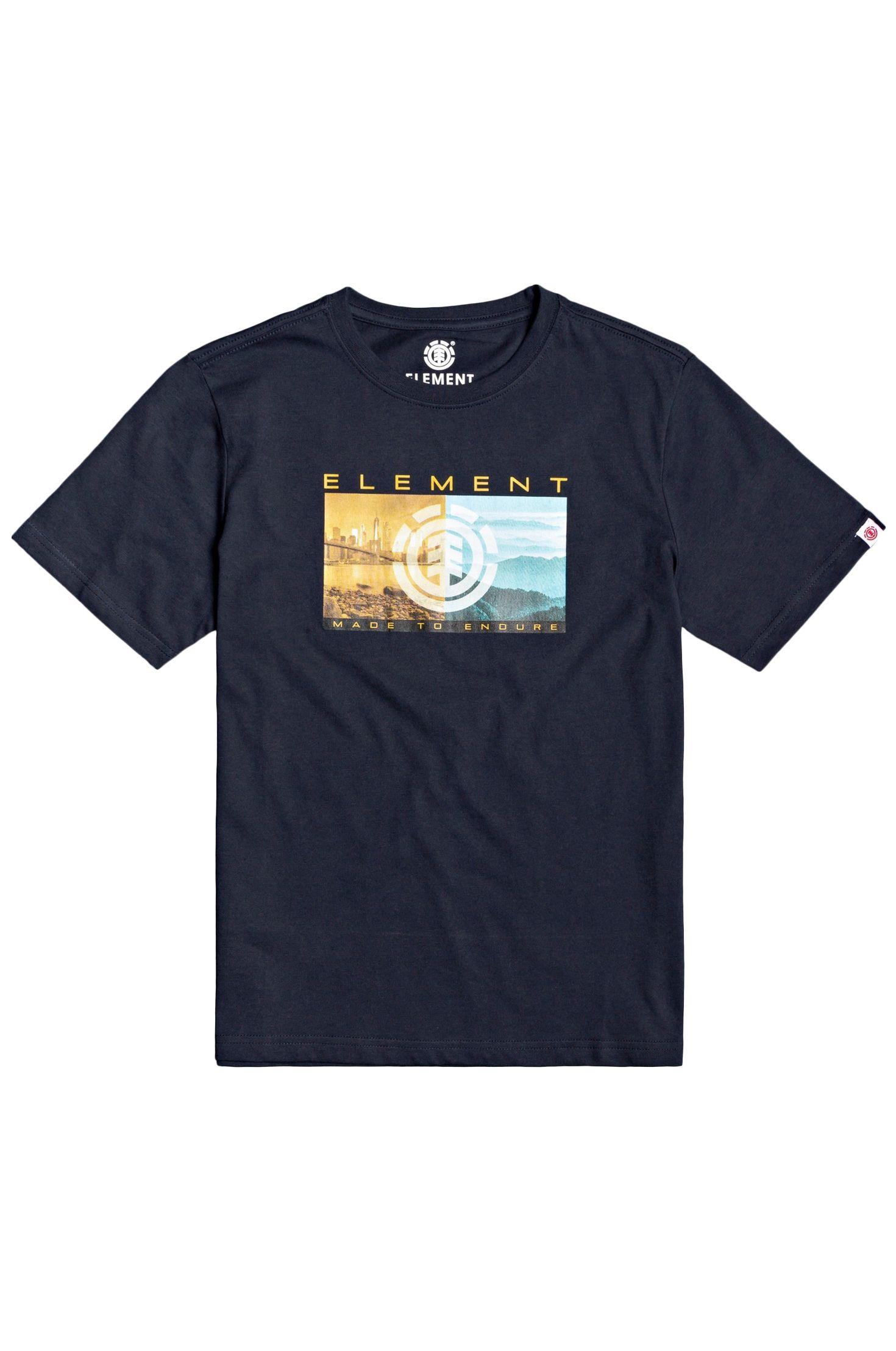 T-Shirt Element SENTINEL SS BOY Eclipse Navy