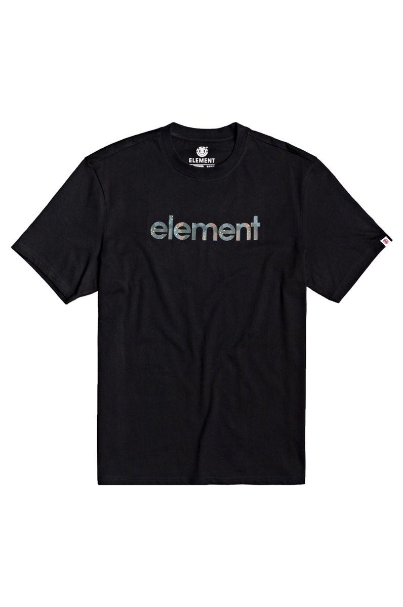 Element T-Shirt WATER CAMO MARK SS B Flint Black