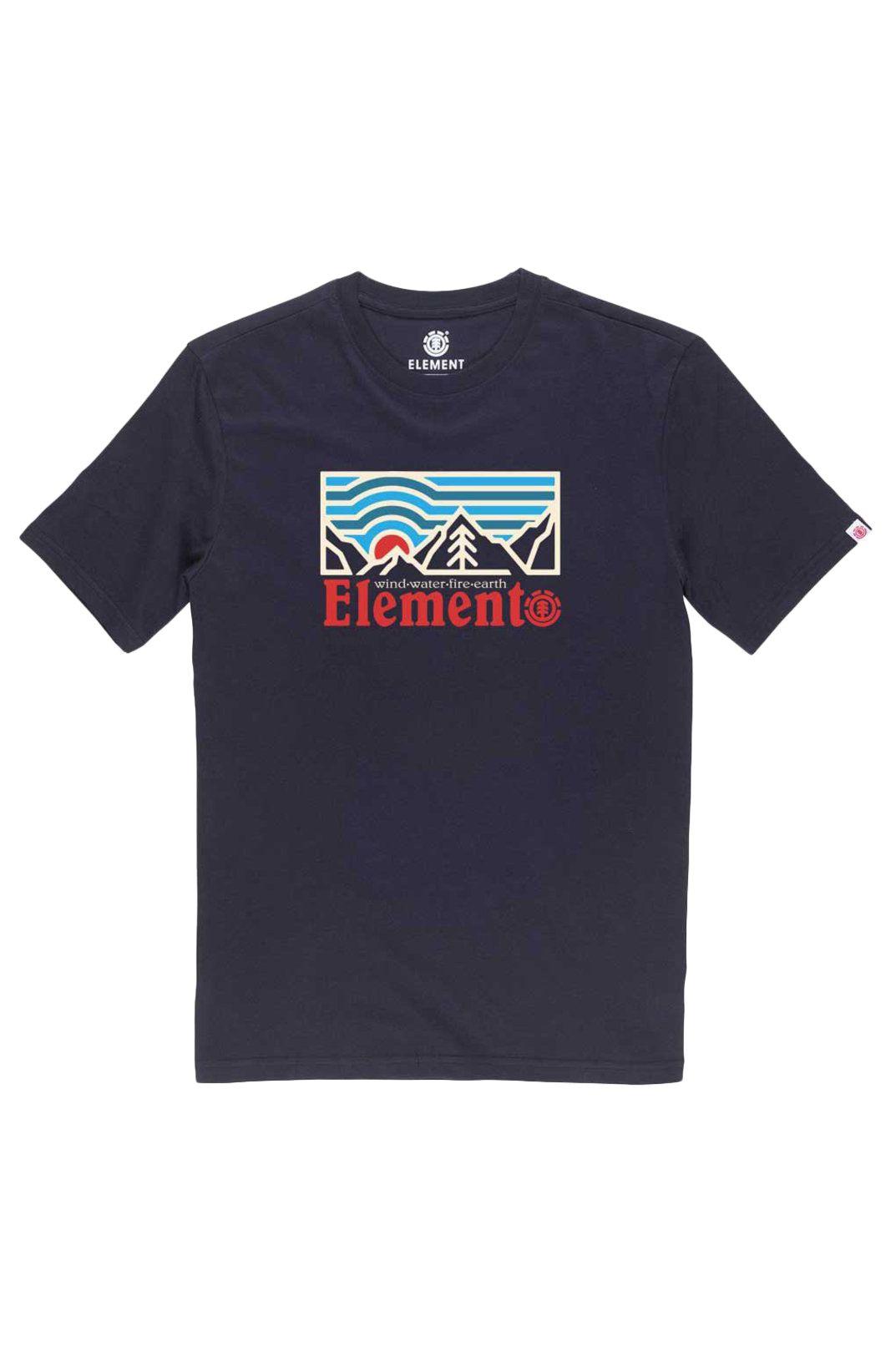 T-Shirt Element WANDER SS BOY Eclipse Navy