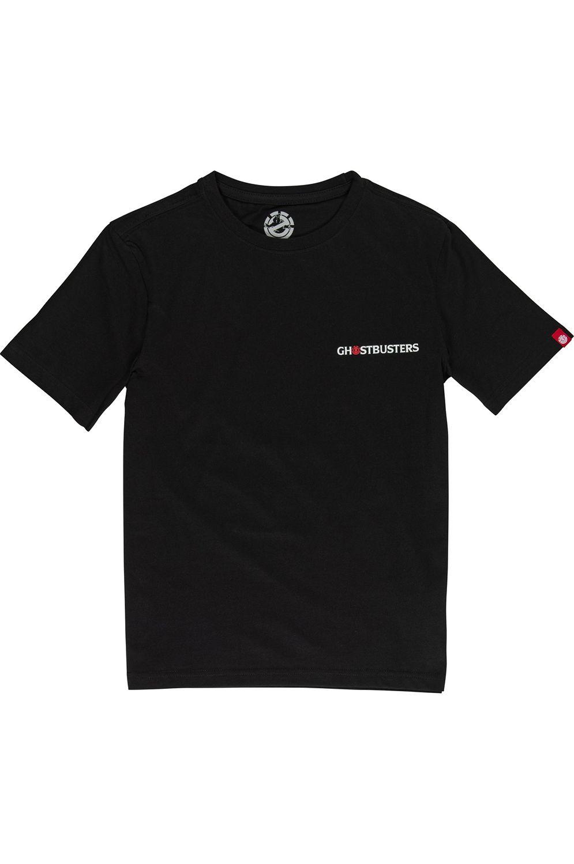 Element T-Shirt GOOP BOY GHOSTBUSTERS Flint Black