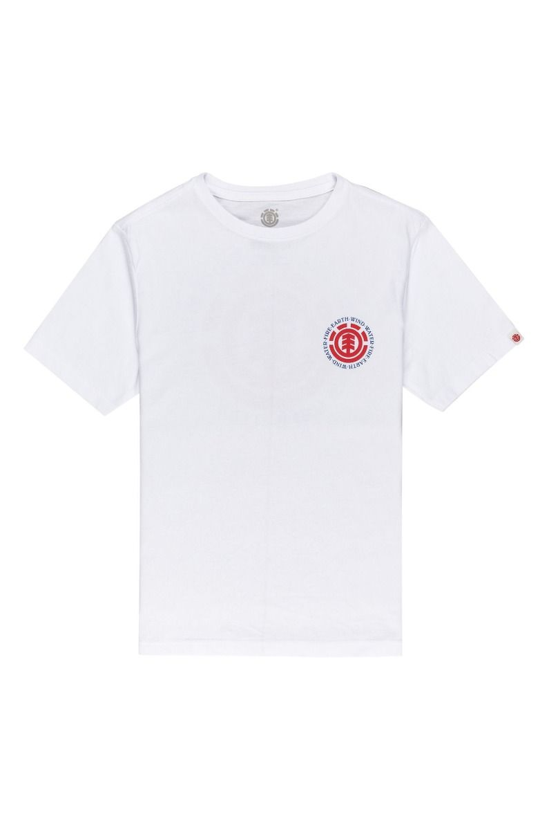 T-Shirt Element SEAL BP SS BOY Optic White