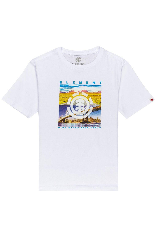 Element T-Shirt PEORIA SS BOY Optic White